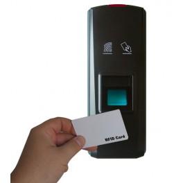 Sistema di controllo accessi e apertura porte biometrico/RFID M6