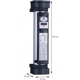 Termometro digitale con dispenser igienizzante